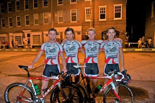 The lads after Iron Hill Classic
