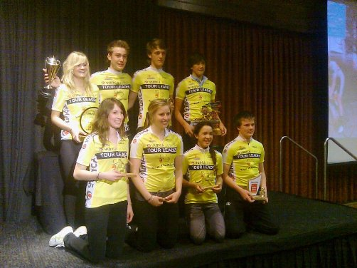 Yunca Tour 2010 Yellow Jersey Winners