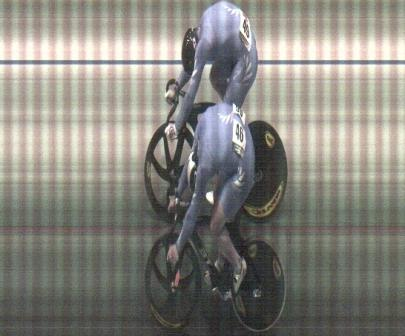 Mens Sprint Final Re-race Photo Finish
