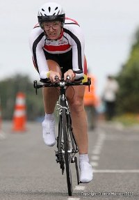 Kylie Young at National TT Champs
