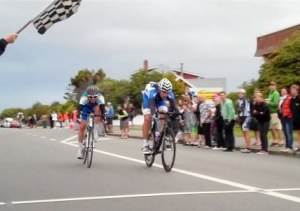 Gore to Invercargill 2011 - Marc Ryan claims the 2011 Classic title