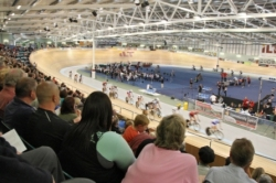 Velodrome crowd