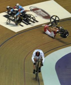 Manchester Mens Keirin Finals - The Crash