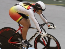 Natasha Hansen lowers the National Womens Sprint Record