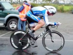 Simon Croom on his way to winning the 2011 Southland Time Trial Champs