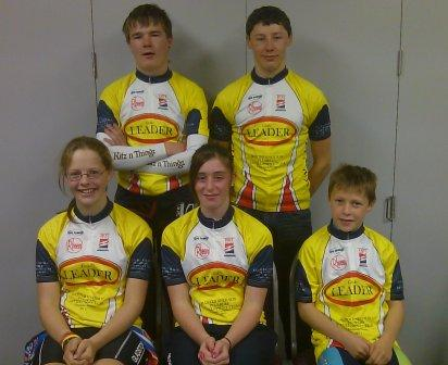 Baxter and Neilsen Yellow Jersey Winners - April 2011