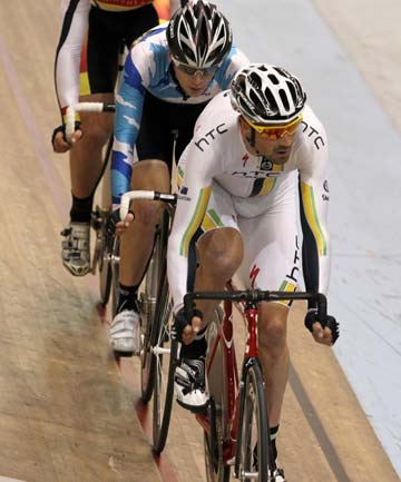 Hayden Roulston back on the ILT Velodrome