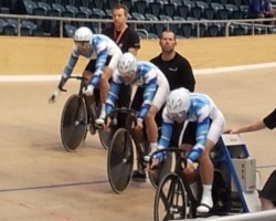 Elite Men Team Sprint Qualifying
