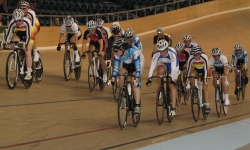 Elite Women Scratch Race at the 2012 Elite Nationals