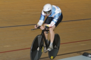 Justin Grace breaks the MM1 TT record