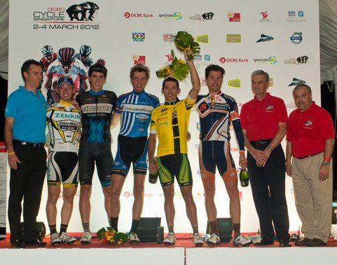 Tom Scully wins King of Sprints at OCBC in Singapore