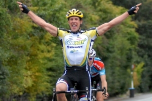 Paul Odlin wins the Oceania Elite Road Race in Queenstown