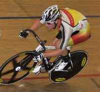 Pieter Bulling at the 2012 Elite Track Champs
