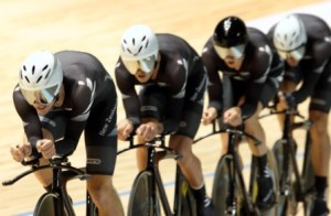 Mens Team Pursuit at 2012 Track Worlds - Photo by CJ Farquarson