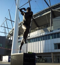 Shane Warnes statue at the MCG