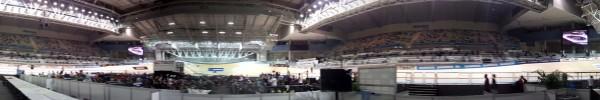 Inside Hisense arena