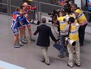 Great Britain Women win Team Pursuit Gold