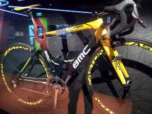 Cadel Evan Tour de France winning bike
