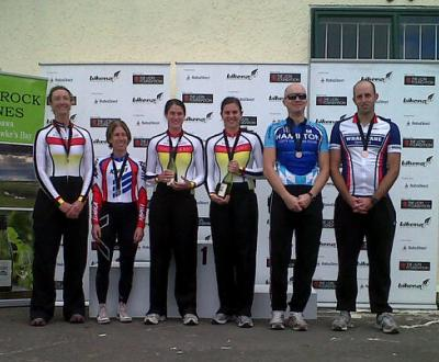 Club Nationals Tandem Podium