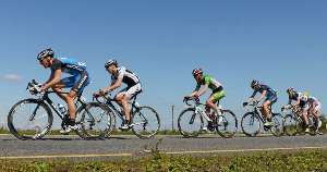 Aucklander Dion Smith in the Tour of Ireland - Photo Sportsfile