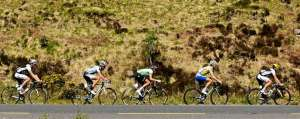 One of the big climbs on Tour of Ireland - Photo by Sportsfile