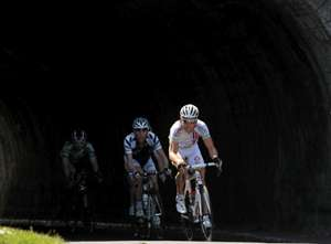 The break on the final stage of the Tour of Ireland today - Credit Sportsfile