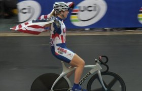 Jennifer Valente wins the 2011 Keirin