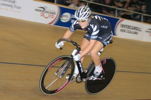 Kate Dunlevey in the sprint