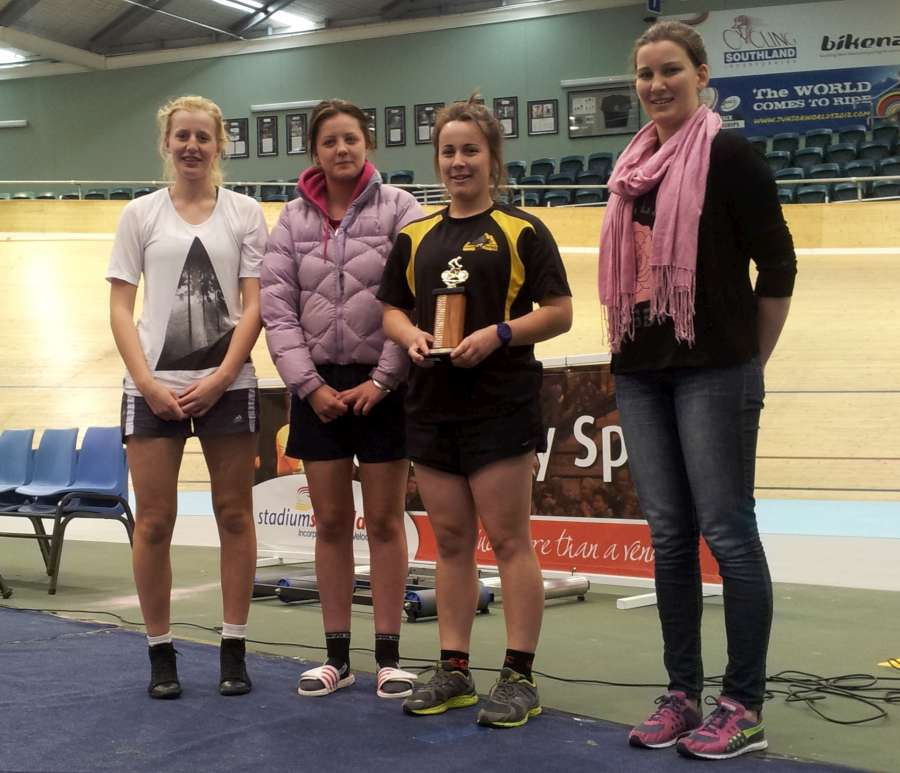 Sec Schools Team Pursuit Senior Girls