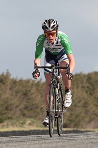 Liam Aitcheson on day one of the 2012 Yunca Tour
