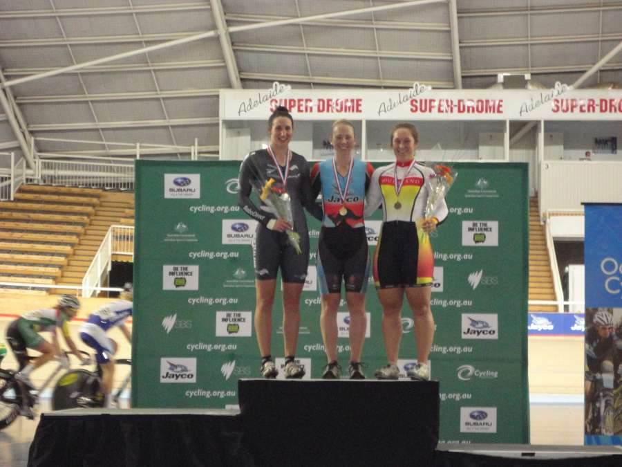 Oceas-Steph on podium