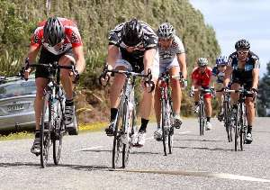 B Grade finish - Photo by Robyn Edie/The Southland Times