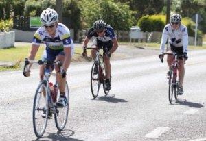 Kirstie James sprints to win C grade - Photo by Robyn Edie / The Southland Times