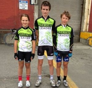 SouthPort Crit Series Round 1 Junior Series Leaders