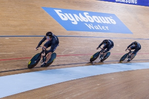 Men's Team Sprint - Photo by Guy Swarbrick