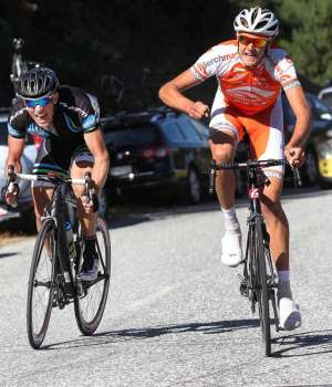 Richard Lawson wins the final stage of Tour de Lakes - Photo by Robyn Edie/The Southland Times