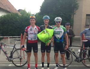 Liam Aitcheson, Regan Gough & Josh Haggerty (l to r) - Photo courtesy of BikeNZ