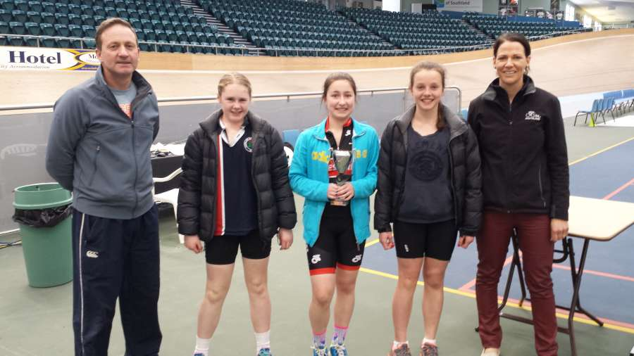 2013 Team Sprint - Junior Girls