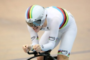 Aaron Gate in the Omnium at Festival of Speed