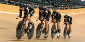 Women's Team Pursuit at the Oceania Champs