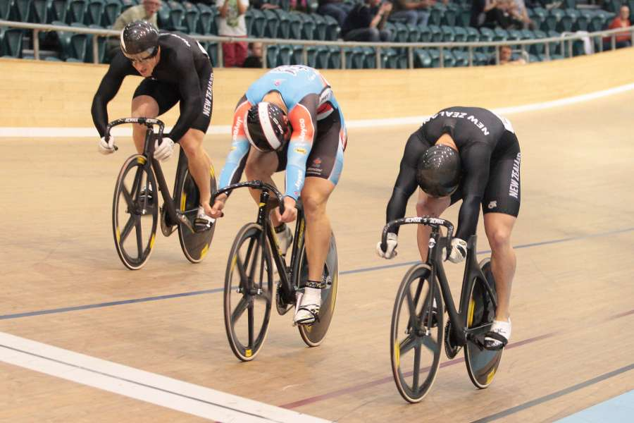 Dawkins Keirin Finish Oceas