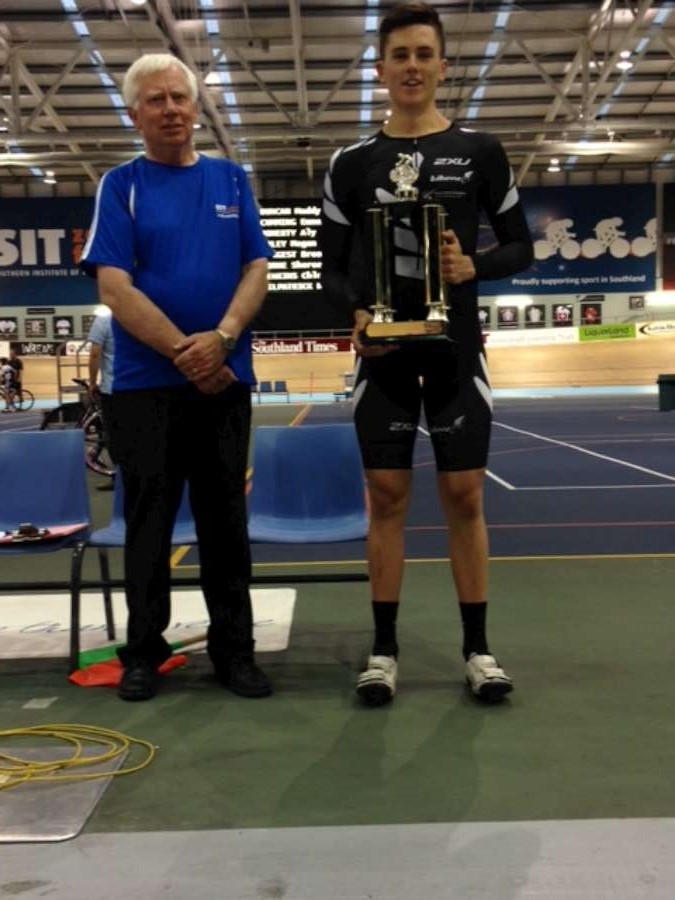 Jeremy wins McLean Cup