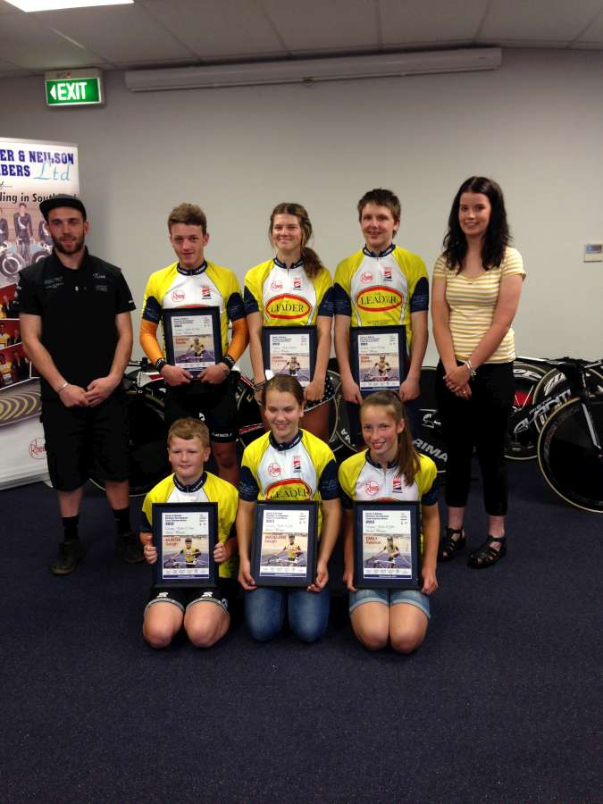 2014 Baxter & Neilson Final Race Night Series Winners