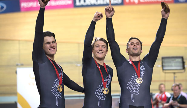 Sprint gold - Commonwealth Games Glasgow 2014