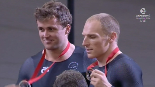 Rhino and Matt medals 2014