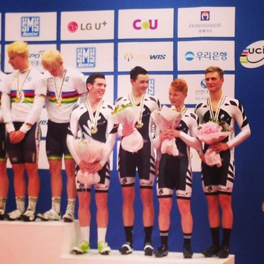JWs Team Pursuit bronze 2014