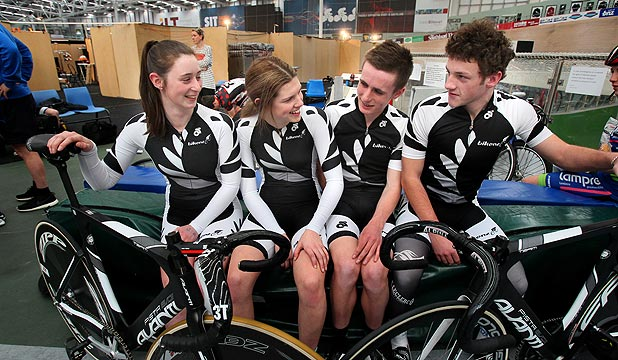 NZ Junior Squad reps 2014