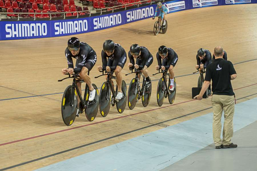 Team Pursuit World Cup Paris