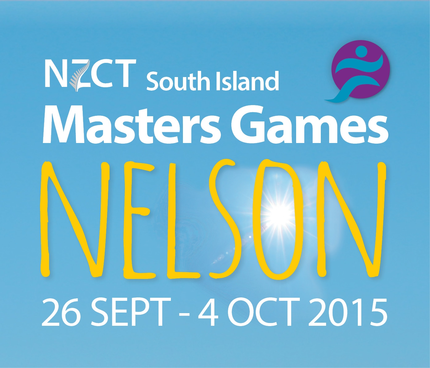 South Island Masters games Logo
