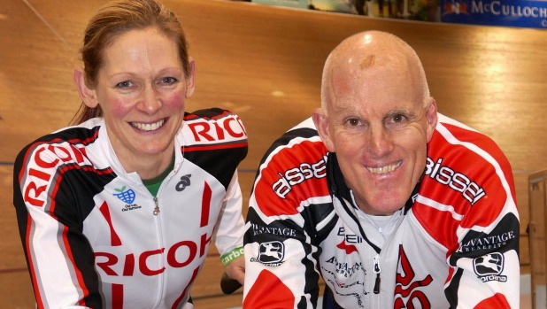 Erin and Neil World Track Masters